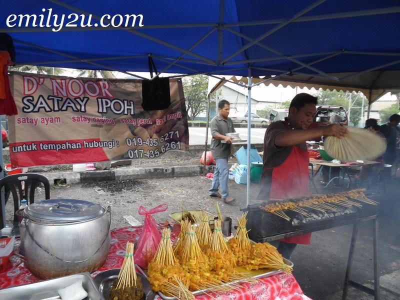 Ramadan bazaar Kampung Tawas