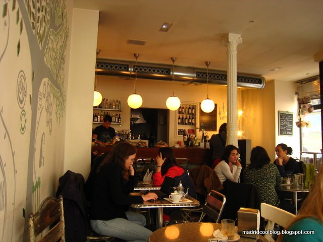 MADRID COOL BLOG Alma Café Barrio Letras brunch anton martin