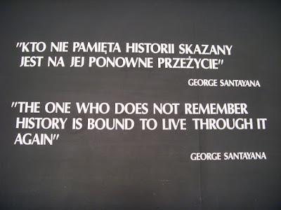 「歴史を記憶しない者はまたくり返す」