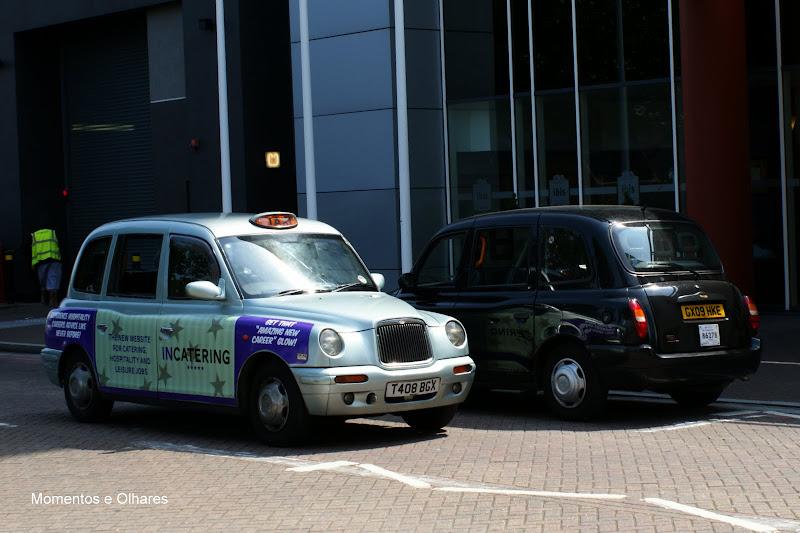 Londres, Táxis