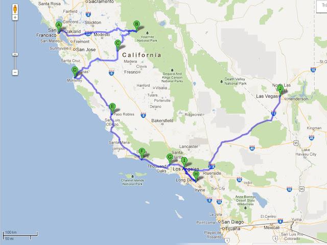 CALIFORNIA, Here We Goooooooooooo! (The End) Dia00_mapa2_1650KM