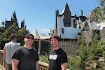Here's the Harry Potter village they're building....yes, we're nerds