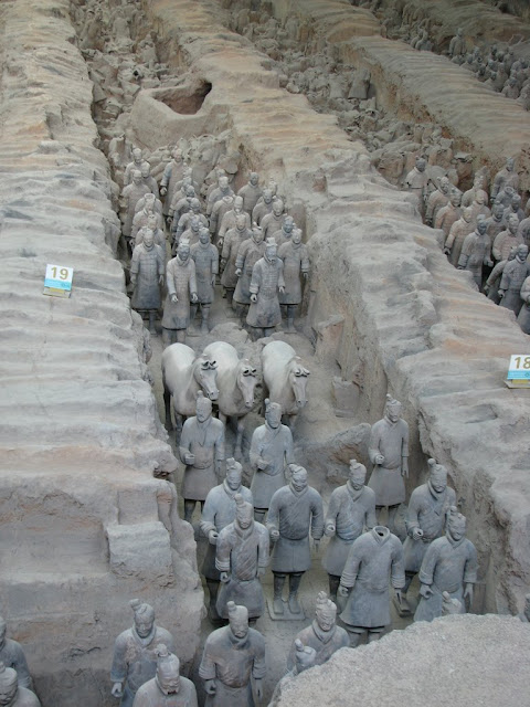 Terracotta Warriors and Horses of Qin Shi Huang's Tomb