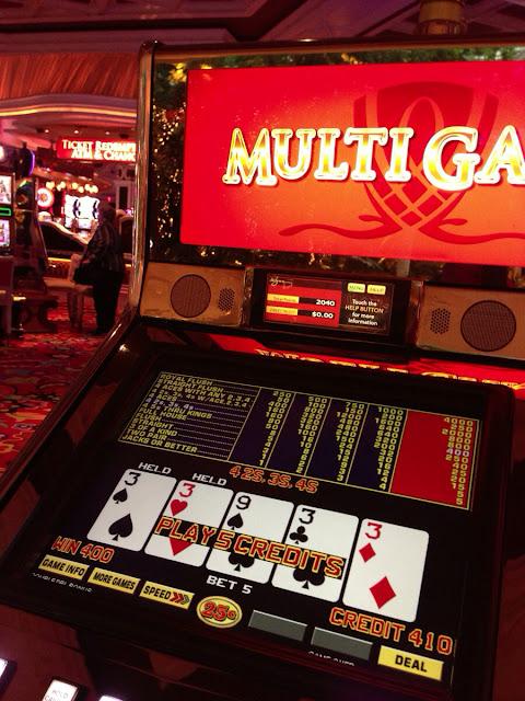 Video Poker at Wynn