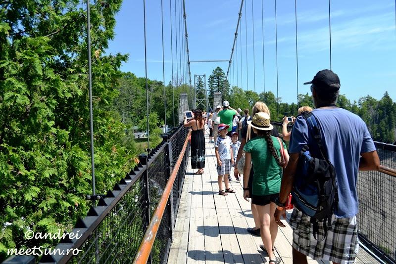 podul peste Cascada Montmorency