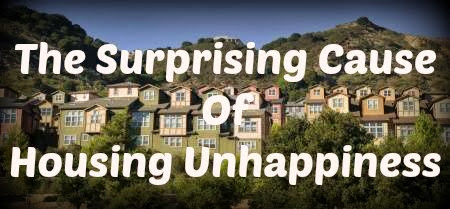 housing unhappiness cause