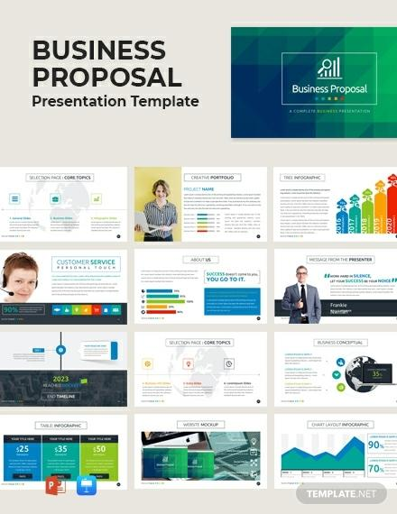 FREE Business Proposal Presentation Template - PowerPoint | Apple ...
