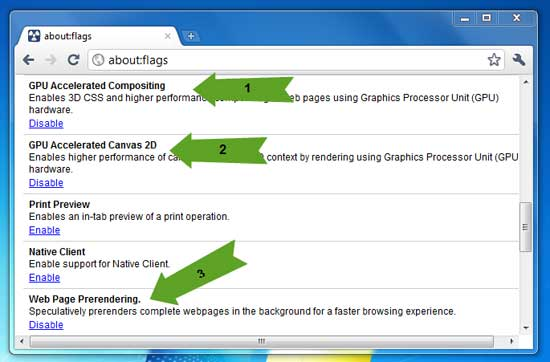 Enable or Disable Hardware Acceleration in Google Chrome