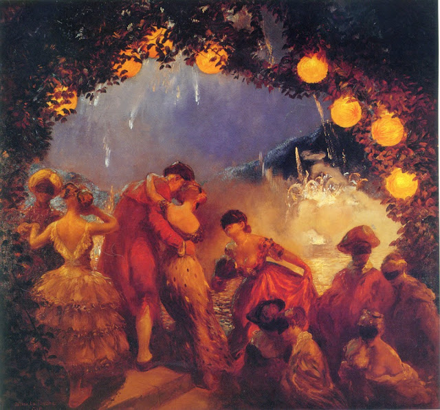 Gaston La Touche - L`Intrigue Nocturne