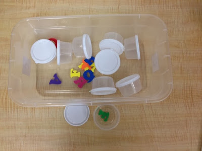 TEACCH work task boxes for special education / autism