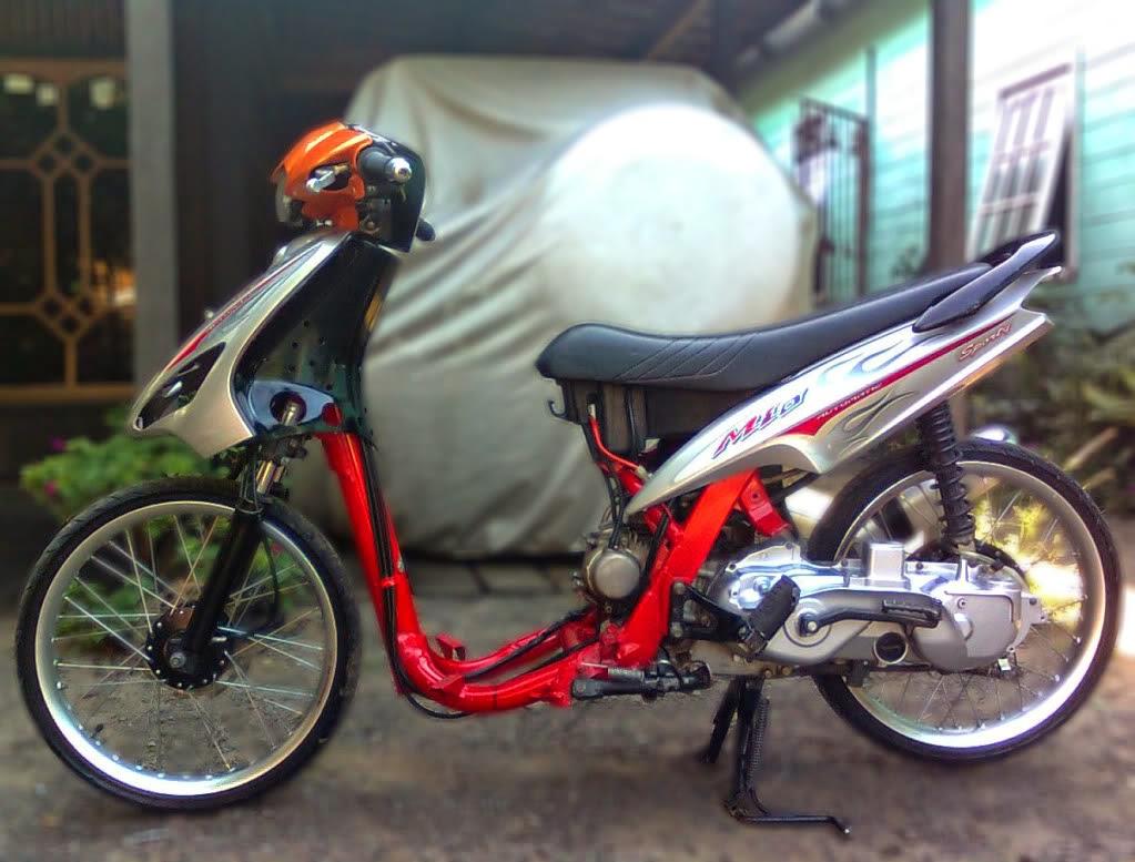 Foto Modifikasi Motor Matic Mio J