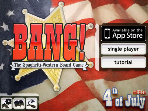 BANG! Video Game 4th of July Edition