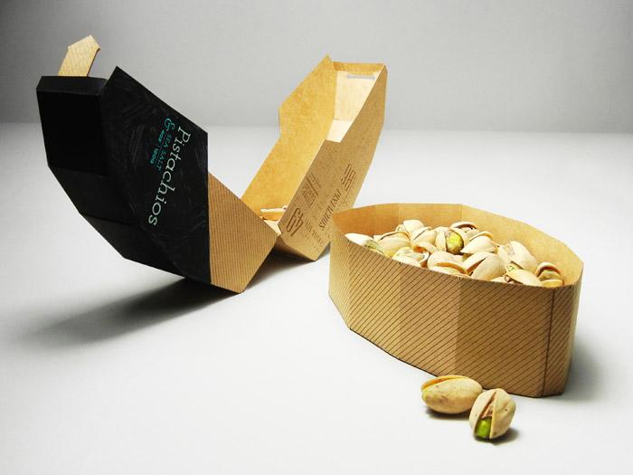 cutie din carton pentru fistic ambalaj