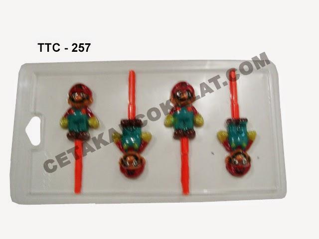 Cetakan Coklat TTC257 Super Mario Bros
