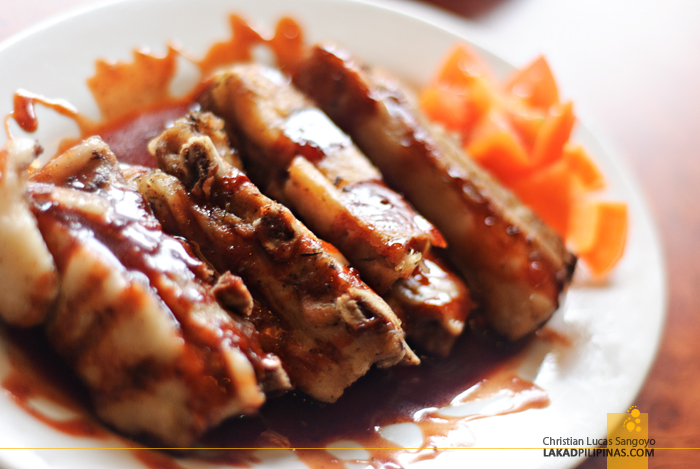 Baby Back Ribs at Legazpi's 1st Colonial Grill