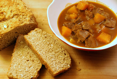 Irish Brown Bread and Guinness Stew