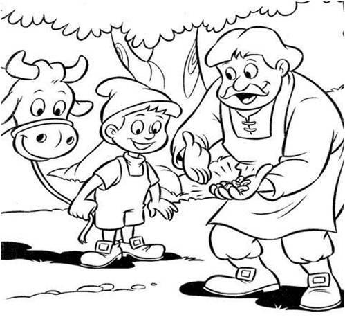 Dibujos para colorear. Maestra de Infantil y Primaria.: Jack y las ...