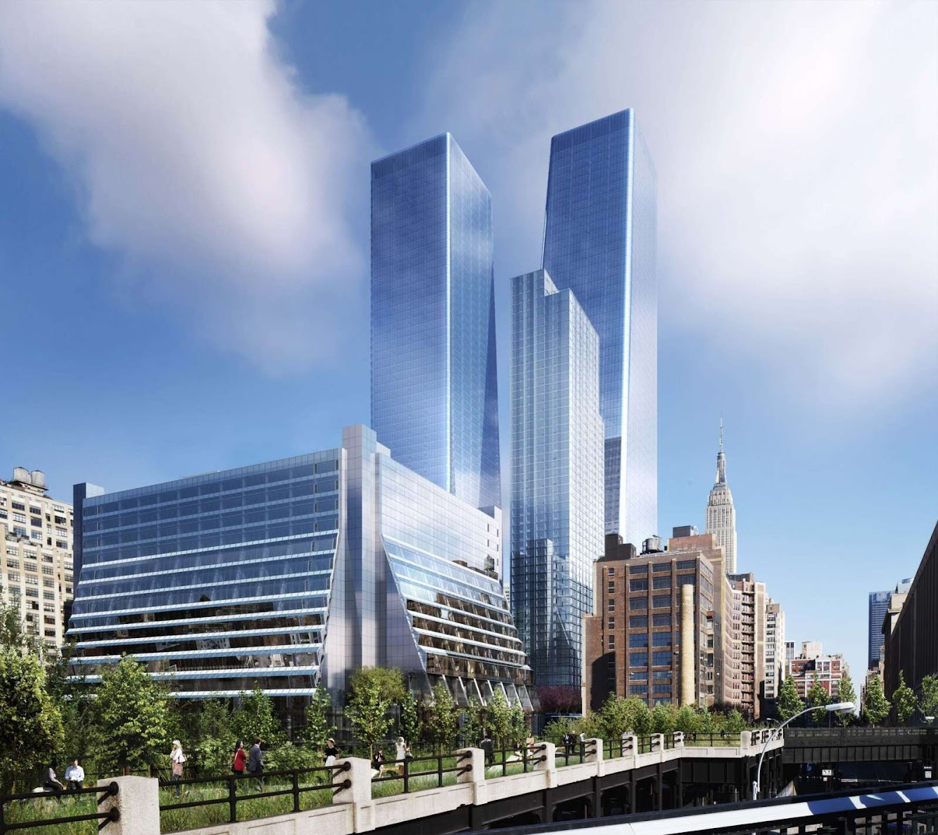 New York, Stati Uniti: Redevelopment of Five Manhattan West by Rex