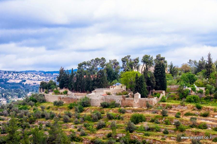 Монастырь Сестёр Сиона в Эйн Карем. Экскурсия по Святым местам в окрестностях Иерусалима