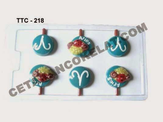 Cetakan Coklat TTC218 Zodiac Aries
