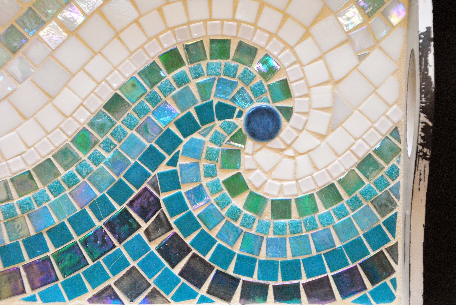 Cool Wave Mosaic Serving Tray MOT3031