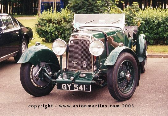 Aston Martin «New» International, 1932 г.