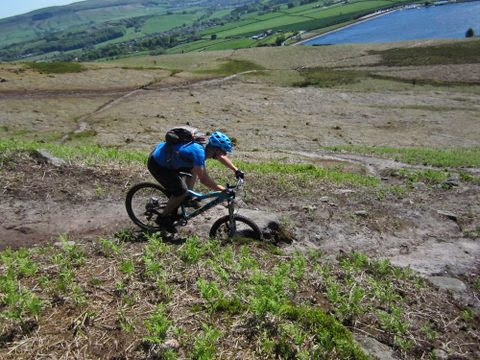 mountain biking yorkshire dales
