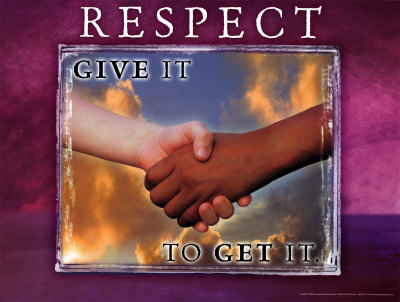 give respect take respect meaning