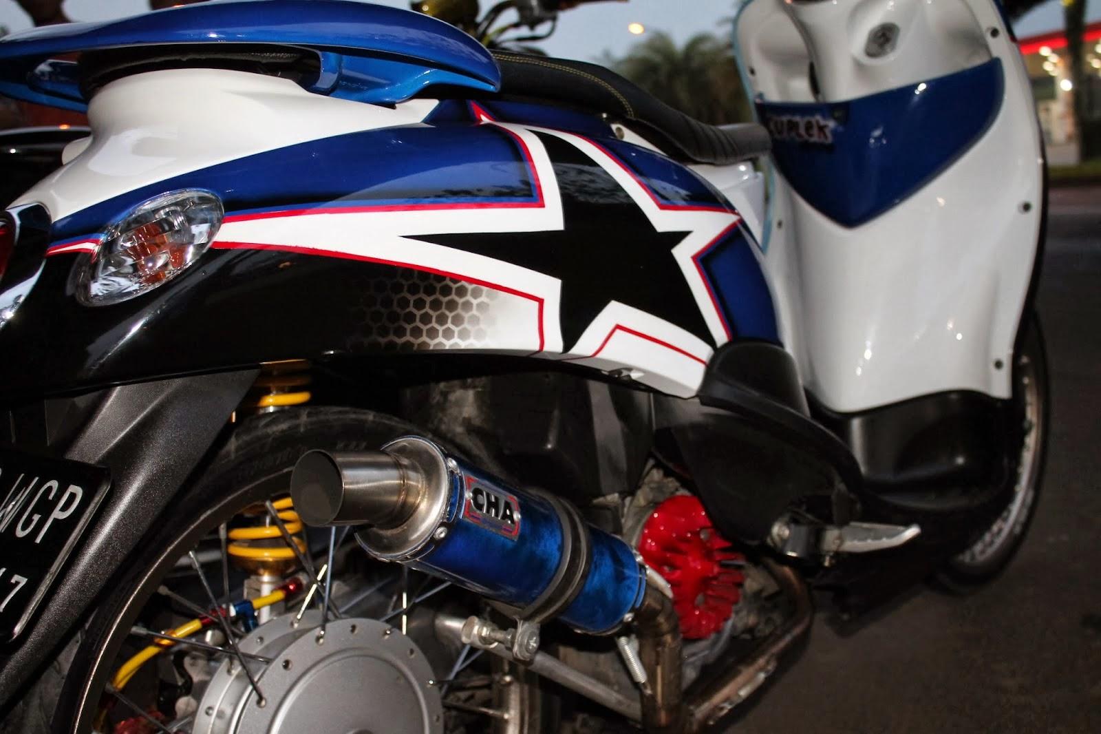 Yamaha Mio Fino Modifikasi Thailand