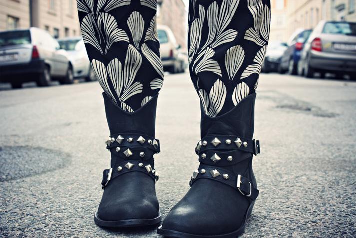 Ravnsborggade + nye støvler Christina Dueholm