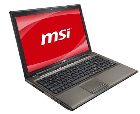 MSI GE620 021US 15.6 Full HD Laptop MSI GE620 021US, A New Gaming Laptop 2011 from MSI