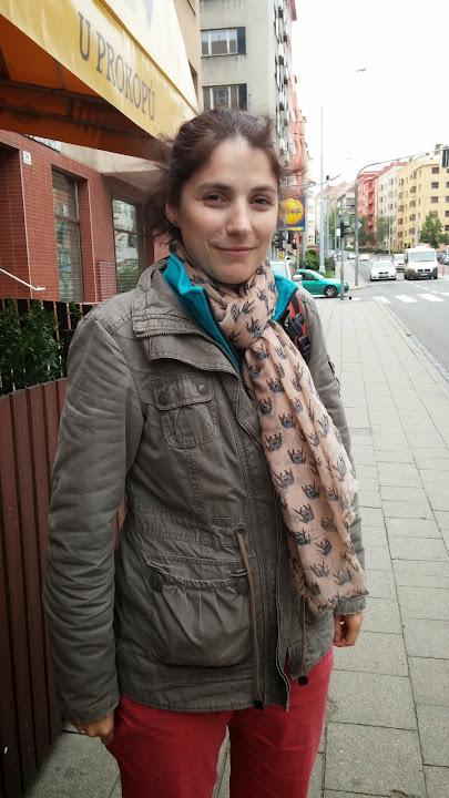 Kristýna Holubová pracuje tři roky jako terénní pracovnice. Foto: Irena Diatelová