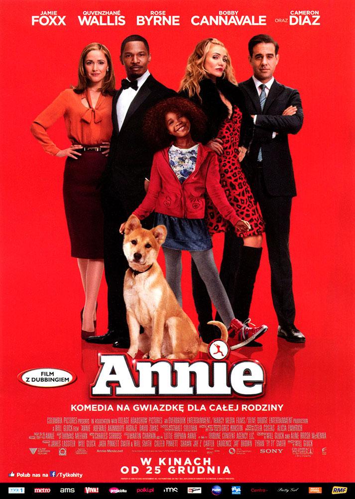Ulotka filmu 'Annie (przód)'