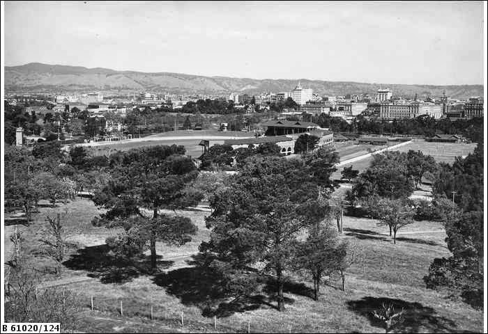 View over Adelaide from Carclew