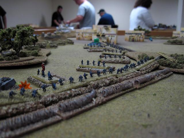 A siege line.