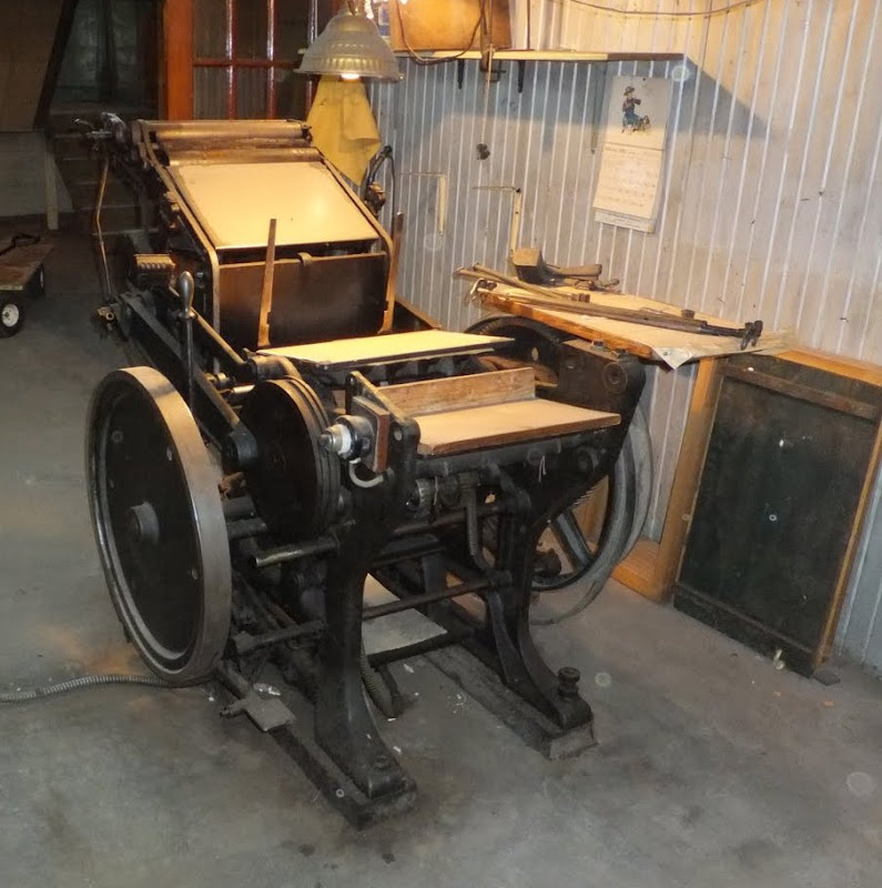 how to use a letterpress machine