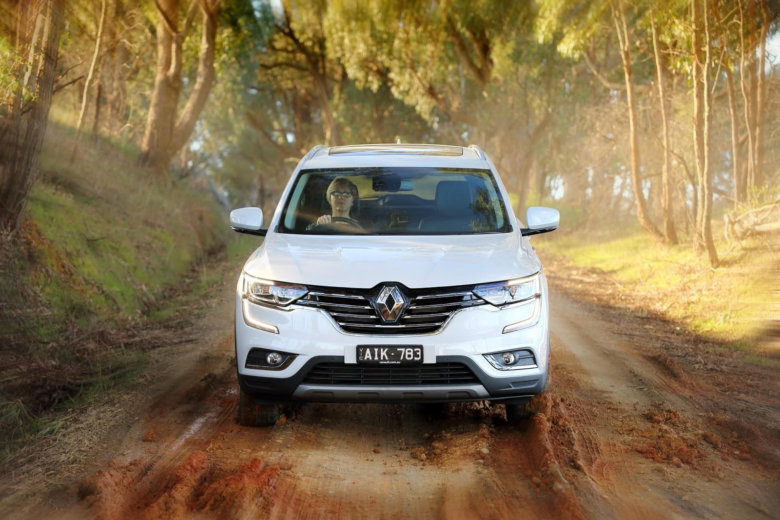 Renault Koleos có quá nhiều nét tương đồng với chiếc X Trail của Nissan