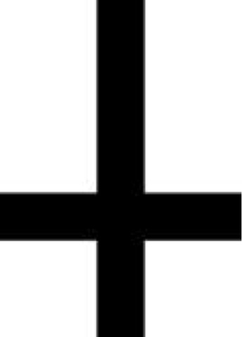 The Gentlemans Tattoo Journal Symbol Of The Week Satanic Cross