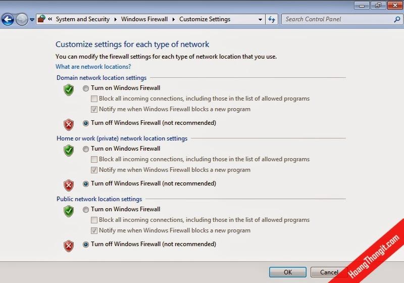 Cài đặt và cấu hình Netwrok Access Protection (NAP) cho DHCP