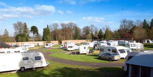 The Blair Drummond Caravan Park at The Blair Drummond Caravan Park