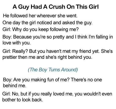 A Guy Had A Crush On This Girl