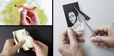 Креативные визитки. Часть 2.
