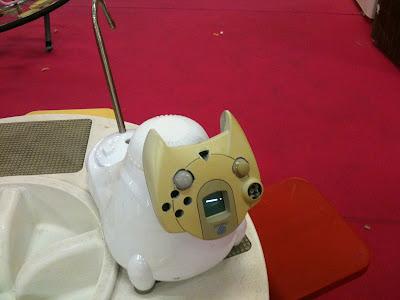 Les créations autour du jeu vidéo Chat_Dreamcast