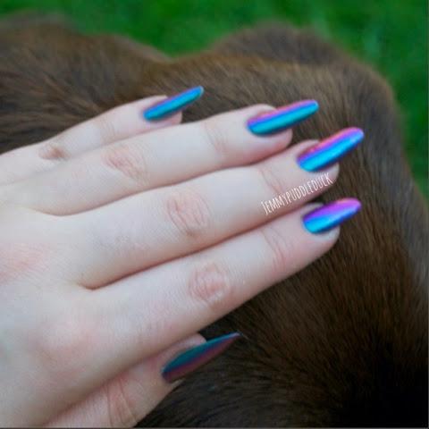 Sulley dance legend polish multichrome chameleon nail varnish