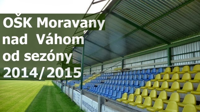 OŠK Moravany nad Váhom od sezóny 2014/2015