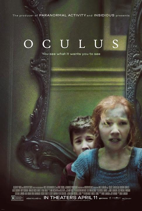 Ο Καθρέφτης της Κολάσεως Oculus Poster