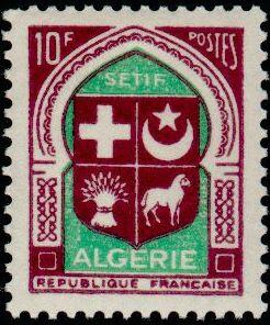 Timbres d'Algérie Timbre%2B337E