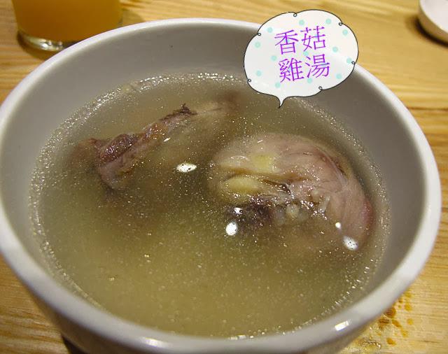 香菇雞湯-上閤屋台中復興店