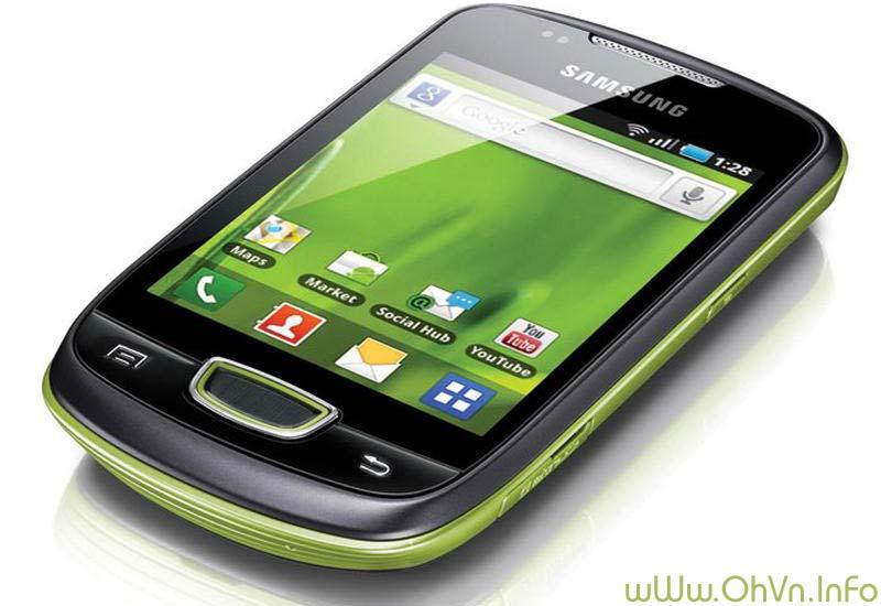 Hướng dẫn Hard Reset Samsung Galaxy Mini S5570