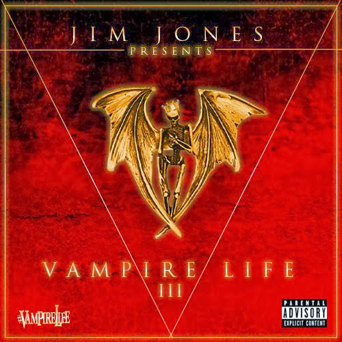 Cover of Jim Jones - Vampire Life 3 Mixtape English Mp3 Songs Free Download Listen Online at Alldownloads4u.Com